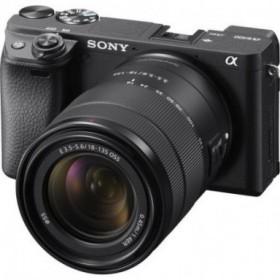 Sony Alpha 6400 con lente...