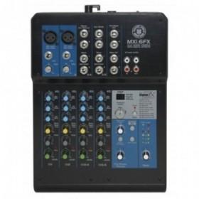 Topp Pro MXI6FX Mezclador...
