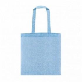 Bolsa algodón 38x42 T4001 azul