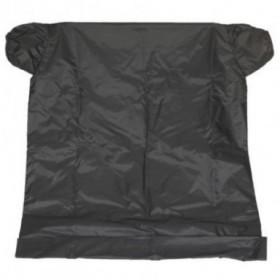 Bolsa negra con mangas...