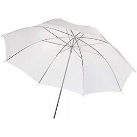 Paraguas blanco translucido...