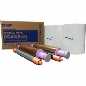 Papel  15x20 cm para DNP DS-40