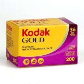Kodak Película color Gold...