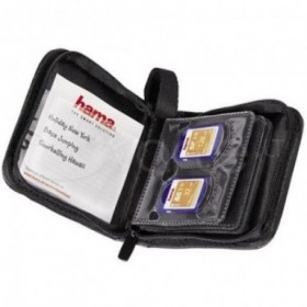 Estuche tarjetas Hama 12 SD...