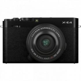 FujiFilm X-E4 + XF 27mm...