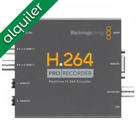 Alquiler - Blackmagic H.264...