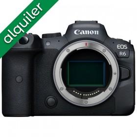ALQUILER - Canon EOS R6