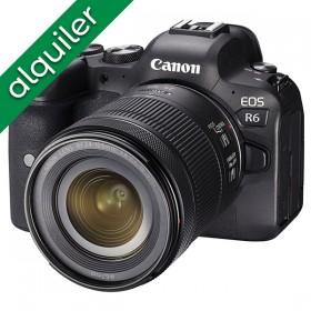 ALQUILER - Canon EOS R6 +...
