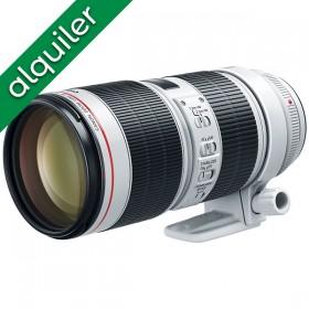 ALQUILER - Canon 70-200mm...