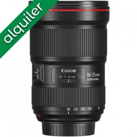 ALQUILER - Canon 16-35mm...