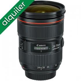 ALQUILER - Canon 24-70mm...